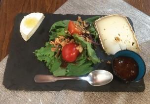 Dessert: Cheese plate