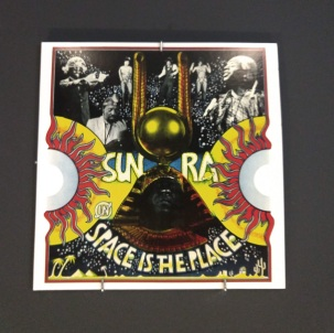 SUN RA, Space is the Place, LP Artwork