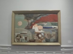 PAUL NASH, Battle of Germany, 1944. Oil on canvas