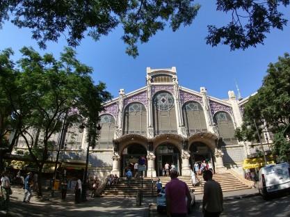 The beautiful façade
